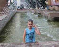 Купание в фонтанах